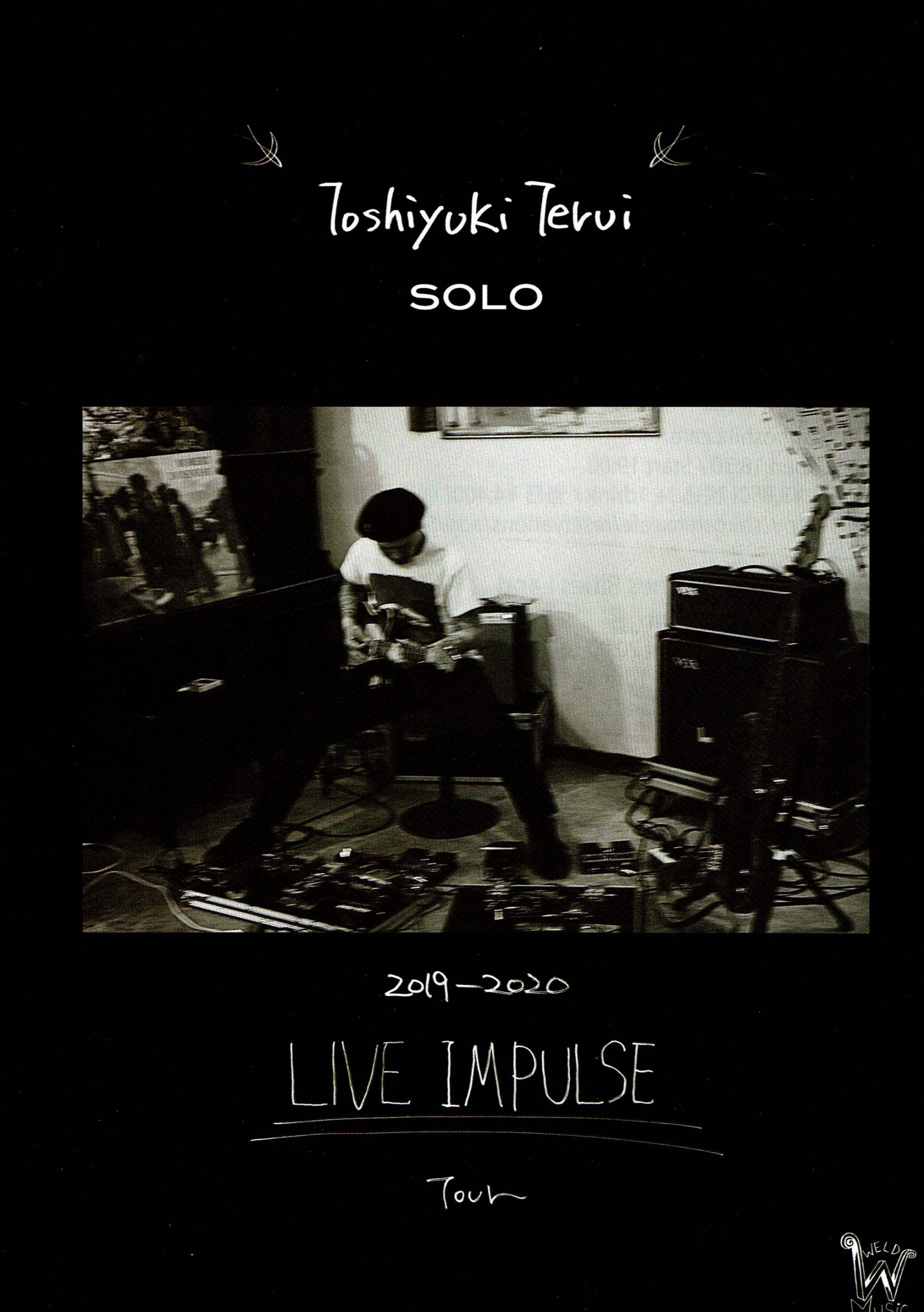 "2020.WINTER TOSHIYUKI TERUI SOLO LIVE tour ""IMPULSE"""